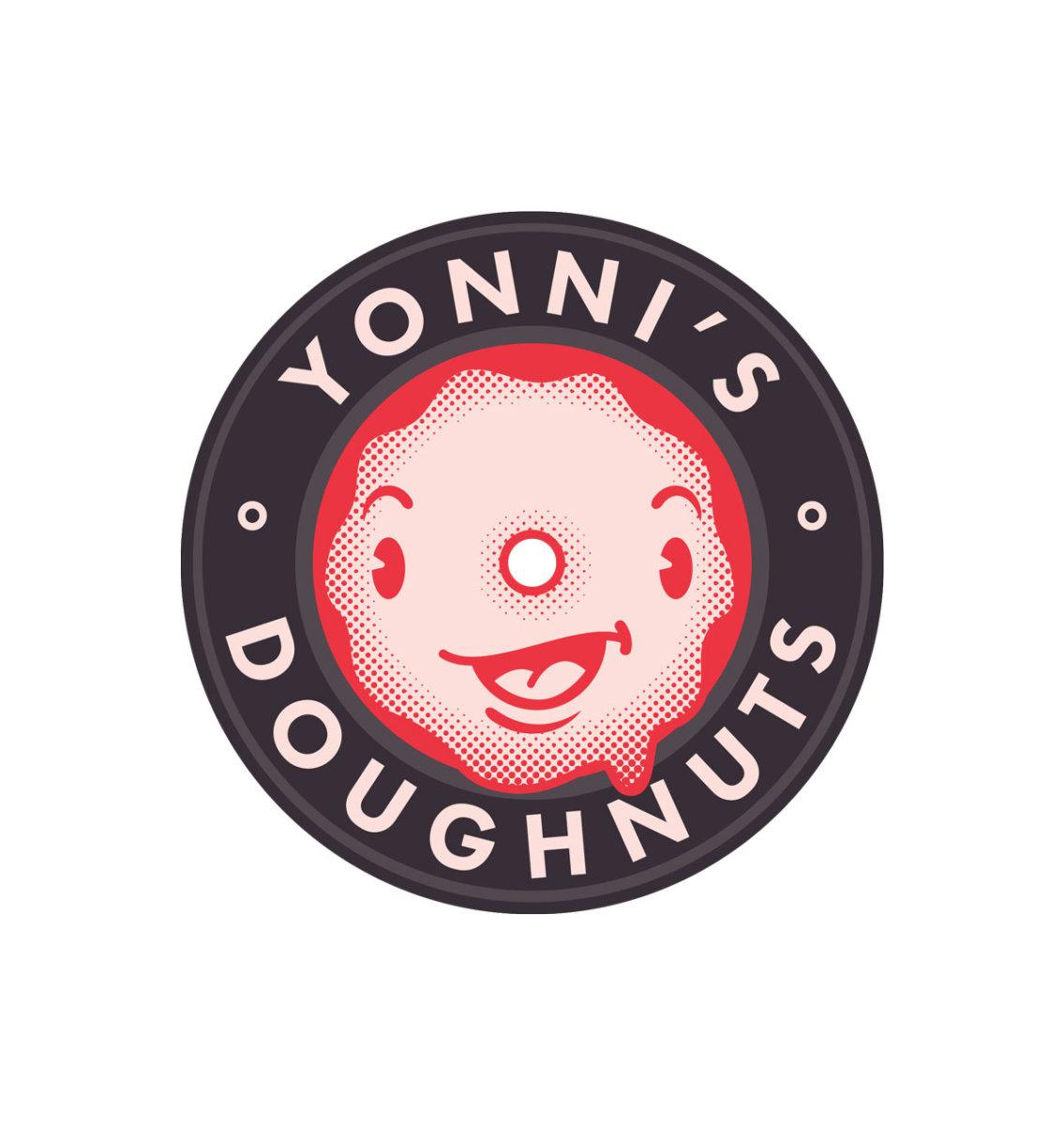 Yonni's Doughnuts Mascot - Aaron Bergunder